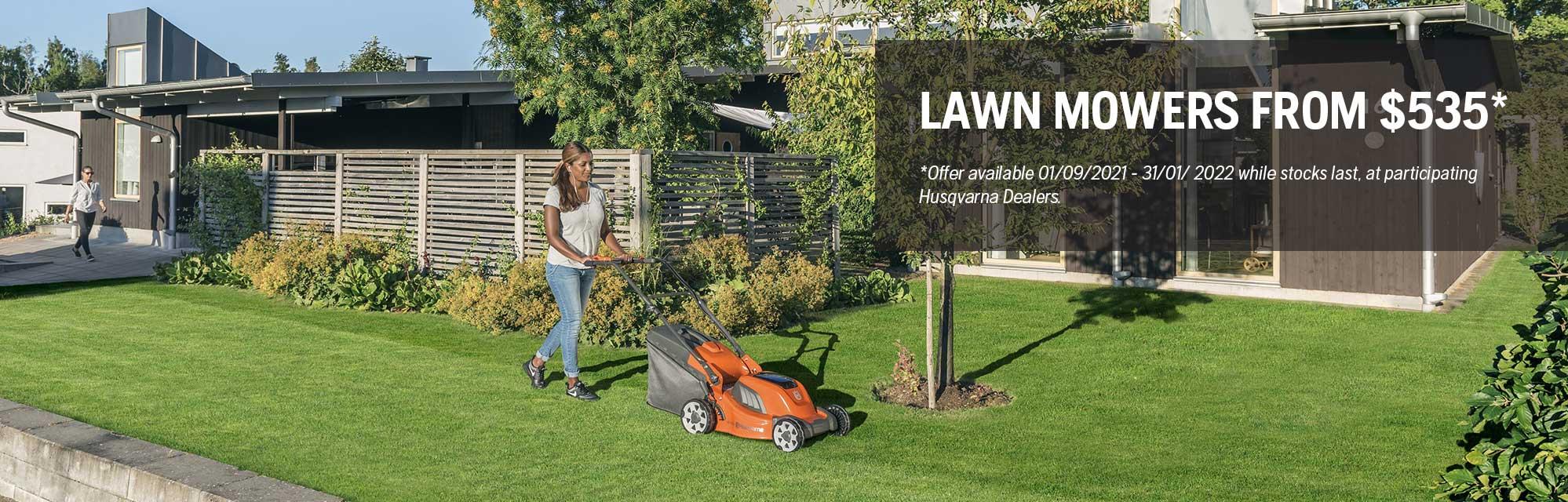 10 Lawn Mower - Spring